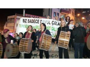 Cerattepe için eylem yapan kadınlar: Cengiz kaç, kaç, kaç; kadınlar geliyor