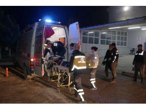 Çöp Kamyonun Çarptığı Adam Ağır Yaralandı