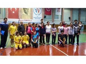 Badminton Turnuvasına Avanos Damgası