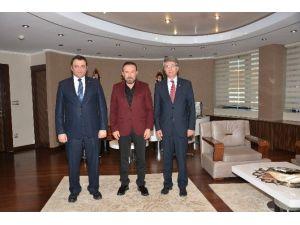 KOÜ'den Başkan Doğan'a Ziyaret