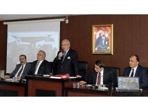 İlçe Belediyeler Koordinasyon Toplantısı Erdemli Ve Silifke'de Yapıldı
