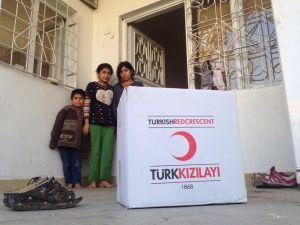 Kızılay 2 bin 470 aileye yardım ulaştırdı