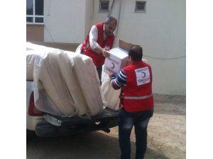 Kızılay'dan 2 Bin 470 Aileye Yardım