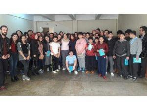 Kemerburgaz Yüksekokulu'ndun İşitme Engellilere Destek Ziyareti