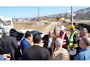 Başkan Gümrükçüoğlu Gülcemal Projesi Çalışmalarını Yerinde İnceledi