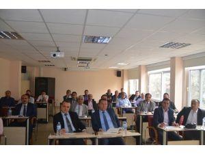 Milli Eğitim Müdürlüğü Envanter Çalışmaları Masaya Yatırıldı
