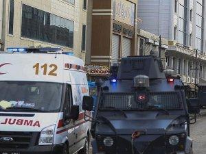 Sur'da 11 yaralı tahliye edildi