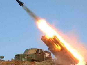 Kuzey Kore 6 kısa menzilli roket fırlattı