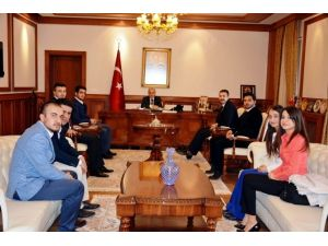 Akil Gençler Platformu Malatya Heyetinden, Vali Kamçı'ya Ziyaret