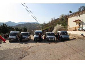 Akyazılı Servis Minibüsçülerinin 'S' Plaka Mağduriyeti