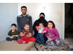 Suriyeli, görme engelli 2 kardeş yardım bekliyor