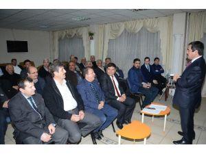 Asansörlerle İlgili Bilgilendirme Toplantısı Düzenlendi