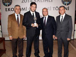 Salihli'de Kent Ekonomi Ödül Töreni Düzenlendi