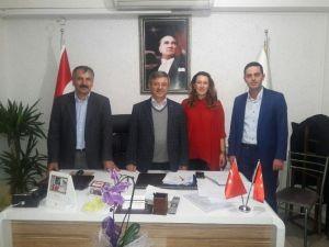 AK Parti İl Yönetiminden Babacanoğlu'na Ziyaret