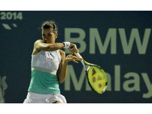 Çağla Büyükakçay WTA çeyrek finaline yükseldi