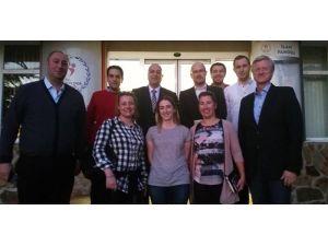 FIBA yetkilileri Samsun'da incelemelerde bulundu