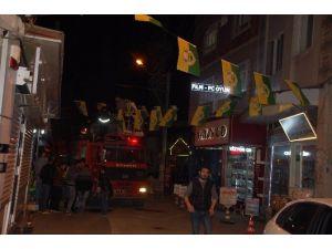 Adıyaman Sarı-yeşil Bayraklarla Süslendi