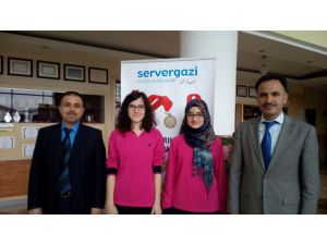 Avrupa Matematik Olimpiyatları'na katılacak 4 öğrenciden 2'si Servergazili