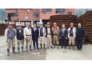 AK Parti Kozlu İlçe Teşkilatı 3 Mart Maden Faciasını Andı