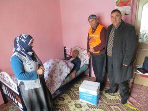Kimse Yok Mu'dan Muradiye'de ihtiyaç sahibi ailelere yardım