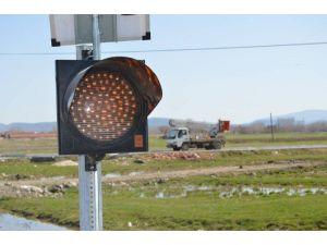 Trafik Güvenliği İçin 'Sinyalizasyon' Çalışması