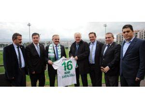 Vali Karaloğlu'ndan Bursaspor'a Ziyaret