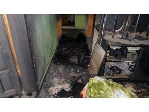 Sobayı Benzinle Yakmak İsterken Evini Yaktı