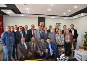 İstanbul Aksaraylılar Derneği'nden Gazeteciler Cemiyeti'ne Ziyaret
