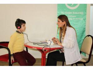 Öğrencilere İşitme Tarama Testi Uygulanmaya Başlandı