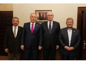 CHP'li Vekillerden Başkan Kurt'a Ziyaret