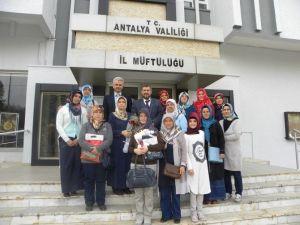 "Antalya İl Müftüsü Osman Artan'a ""Sessiz"" Ziyaret"