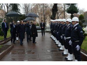 Meclis Başkanı'ndan Ankara Valisi'ne ziyaret