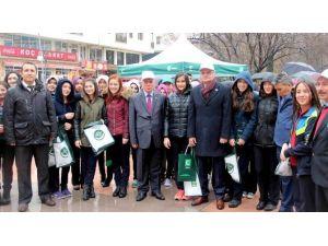 Çankırı'da Yeşilay Standı Açıldı