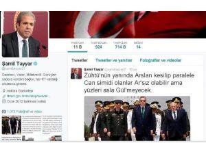 Şamil Tayyar'dan İmalı Tweet