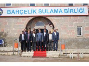 Kayseri Şeker Fabrikası Bahçelik Sulama Birliği'ni Ziyaret Etti