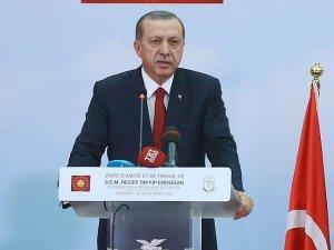 Cumhurbaşkanı Erdoğan: Dürüstseniz masadan kalkmazsınız