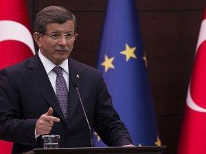 Davutoğlu: Demirtaş'ın meselesi Türkiye'nin geleceğini karartmak