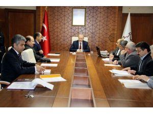 Vali Ceylan Başkanlığında Toprak Koruma Kurul Toplantısı Yapıldı