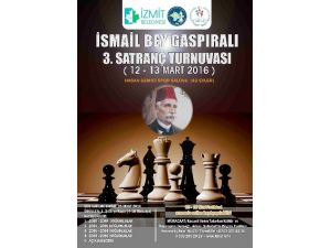 İsmail Bey Gaspıralı 3.satraç Turnuvası 12-13 Mart'ta