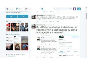 Hakim Karanfil'den trol isyanı: Ülkeyi paralı ahlaksız, küfürbaz troller sardı