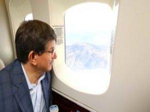 Başbakan Davutoğlu, Kurmaylarıyla Birlikte Şırnak'ta