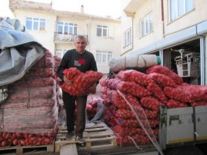 Üreticiye 'Sertifikalı Patates Tohumu' Desteği