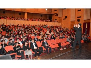 Aksaray Belediyesi'nden Öğrencilere Moral Semineri