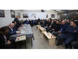 Başkan Karaosmanoğlu, Erzurumlular'a Konuk Oldu