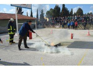 Kula'da Doğal Afet Ve Yangın Tatbikatı