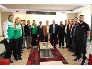 Başkan Ergün Salihli'nin Sultanlarını Ağırladı