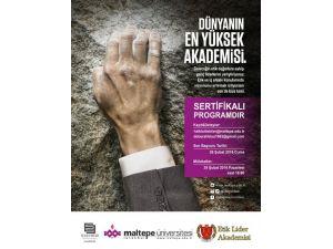 Etik Liderler, Maltepe Üniversitesi'nde Yetişecek