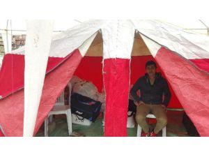 Alaplı'da Bayırbucak Türkmenleri İçin Yardım Çadırı Kuruldu