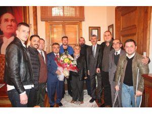 Rumeli Yönetiminden Başkan Selim Yağcı'ya Ziyaret