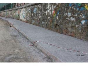 Akçakoca'da Baskı Beton Çalışması Tamamlandı